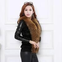 Fashion Womens Ladies Winter Warm Vest Coat Jacket Faux Fur Outwear Cardigan