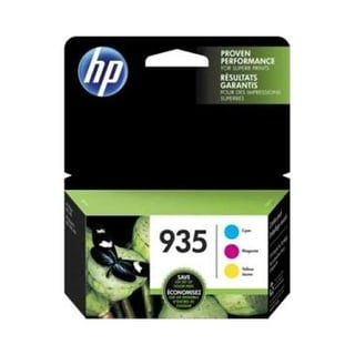HP 935 3-pack Cyan/Magenta/Yellow Original Ink Cartridge (Single Pack) Ink Cartridge