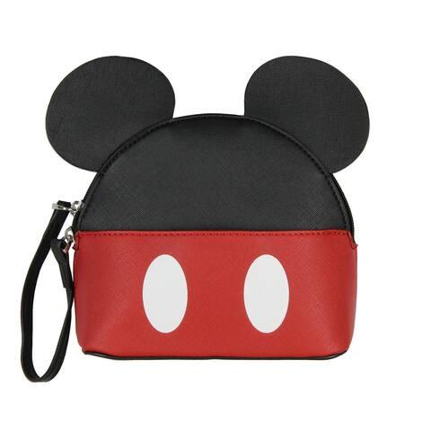 Disney Mickey Mouse Crossbody Purse Ears 3D Domed