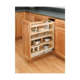 """Rev-A-Shelf 448-BC-5C 448 Series 5"""" Wide Base Cabinet Pull Out Shelves - N/A"""
