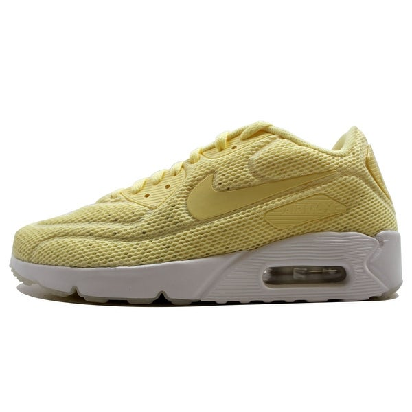 Nike Men's Air Max 90 Ultra 2.0 BR Lemon Chiffon 898010-700