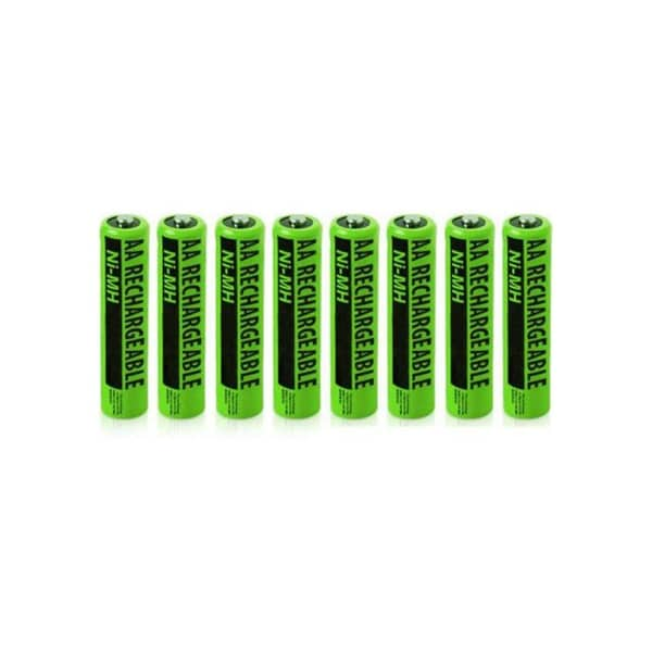 NIMHAAA (8-Pack) NiMh AAA Batteries 2-Pack