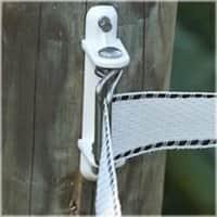 Fi-Shock PAWPC-FS Wood Post Polytape Corner Insulator, White