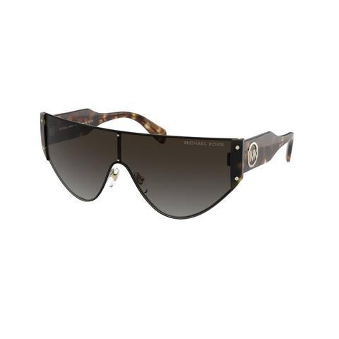 Michael Kors MK1080 10068G 36 Light Gold Woman Irregular Sunglasses