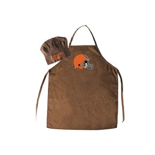 NFL Cleveland Browns Apron and Chef Hat