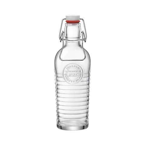 Bormioli Rocco Officina Water Bottle, 37.25 oz