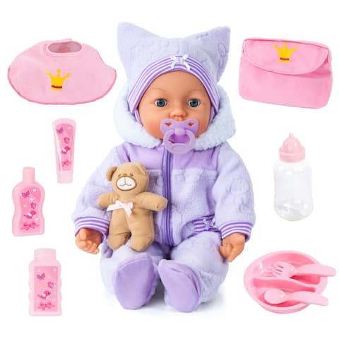 "Piccolina Magic Eyes 18"" Baby Doll"