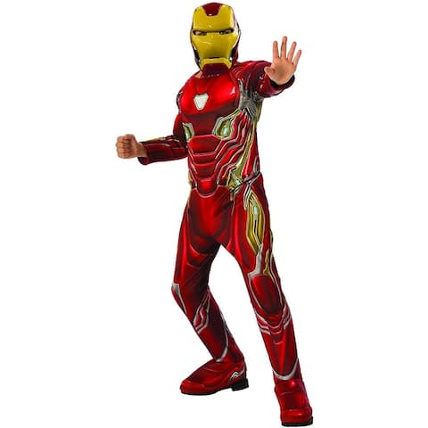 Marvel Avengers: Infinity War Deluxe Iron Man Child Costume - Red