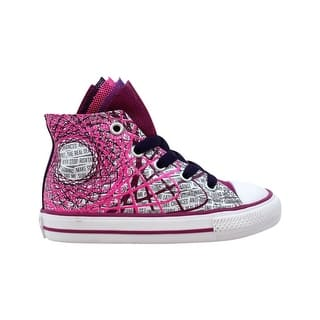 79bf21937460 Quick View.  28.35. Converse Chuck Taylor Party Hi Pink Sapphire 749964F  Toddler