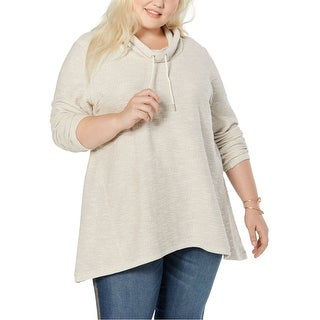 Link to Style & Co. Womens Funnel Neck Sweatshirt Similar Items in Loungewear
