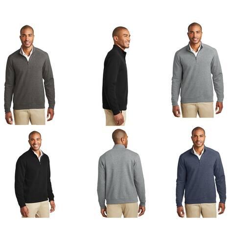 One Country United Men's Interlock 1/4 Zip Pullover