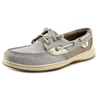 Sperry Top Sider Rosefish Women Moc Toe Leather Boat Shoe