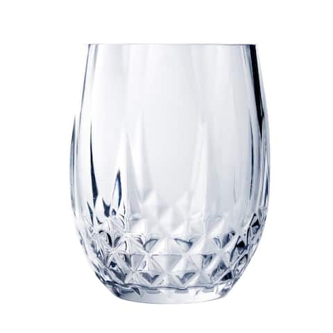 Longchamp 10 Ounce Stemless Wine Glass, Set of 4
