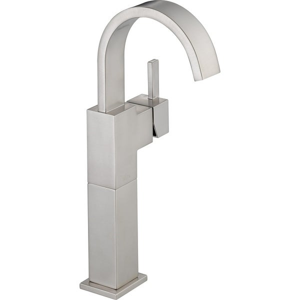 Delta 753LF Vero Single Hole Bathroom Faucet with Riser
