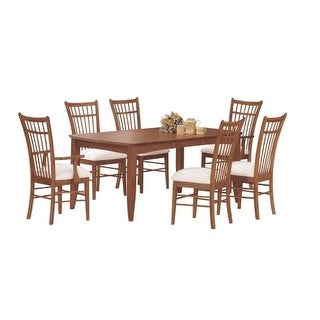 Monarch Specialties I 1414 Set of Two 20 Inch Wide Wood Framed Fabric Dining Cha