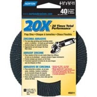 20X 07660703211 Abrasive Flap Disc Grit 40