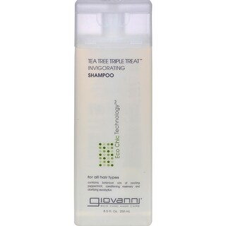 Giovanni Hair Care Products - Tea Tree Triple Treat Shampoo ( 2 - 8.5 FZ)