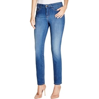 NYDJ Womens Jeggings Chambray Light Wash