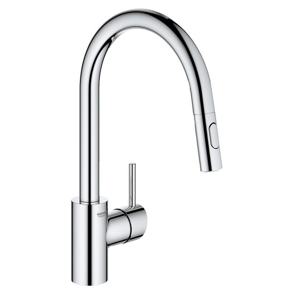 Grohe 32 665 3 Concetto 1.75 GPM Single Hole Pull Down Kitchen Faucet. Opens flyout.
