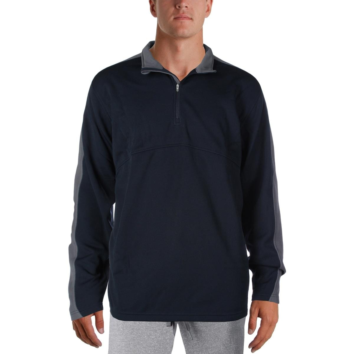 Charles River Apparel Mens 1/4 Zip Pullover Fitness Jacket - Thumbnail 2