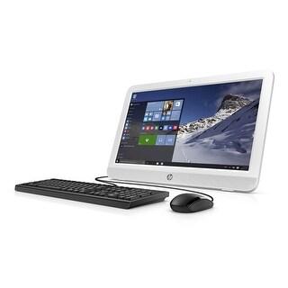 "Manufacturer Refurbished - HP 20-E014 19.45"" AIO Desktop Intel Celeron N3050 1.6GHz 4GB 500GB Win10"