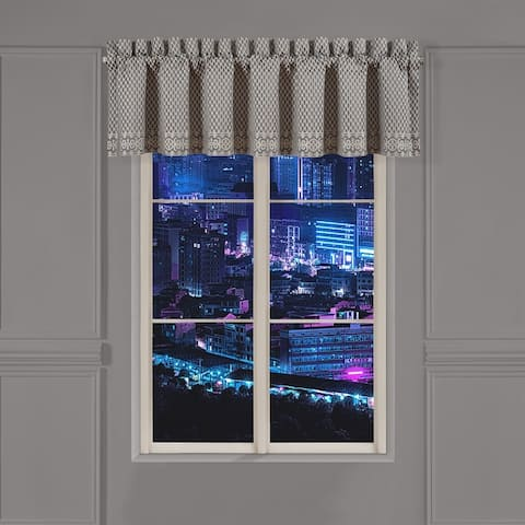 Five Queens Court Houston Window Straight Valance