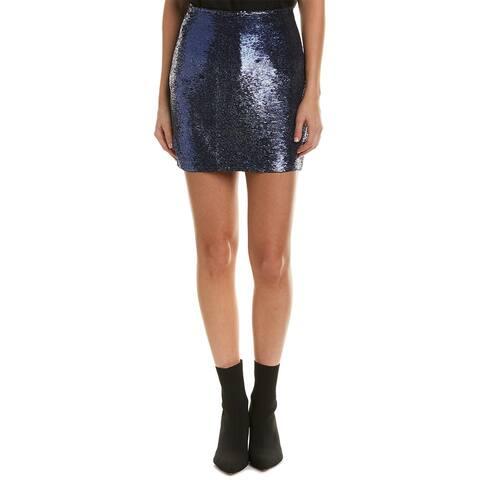 Iro Noblea Leather Skirt