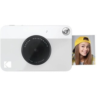 "Kodak PRINTOMATIC Digital Instant Print Camera - Full Color Prints On ZINK 2x3"" Sticky-Backed Photo Paper (3 options available)"