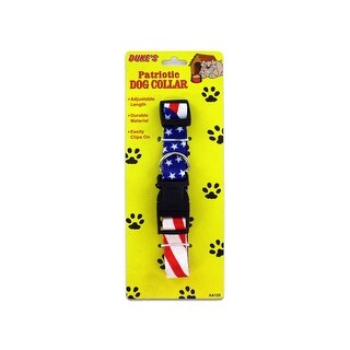 Patriotic Dog Collar - Pack of 24