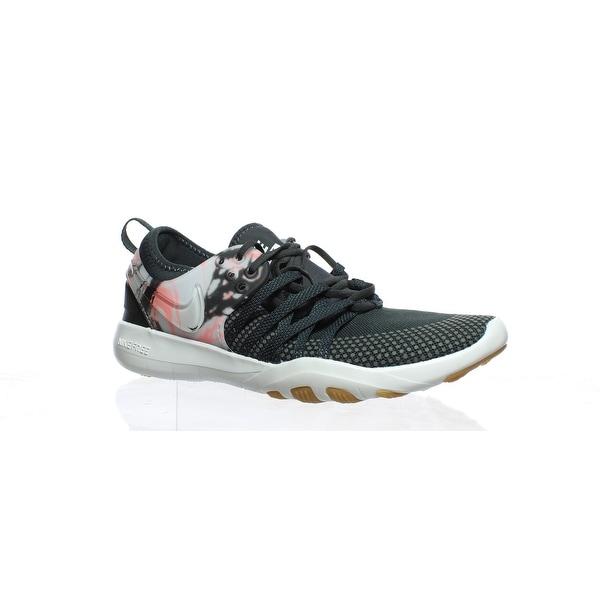 new concept b8e7d e6b73 Shop Nike Womens Free Tr 7 Black Running Shoes Size 6 - Free ...