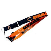 Chicago Bears NFL Reversible Lanyard Keychain Id Ticket Holder