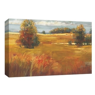 "PTM Images 9-153735  PTM Canvas Collection 8"" x 10"" - ""October Light"" Giclee Rural Art Print on Canvas"