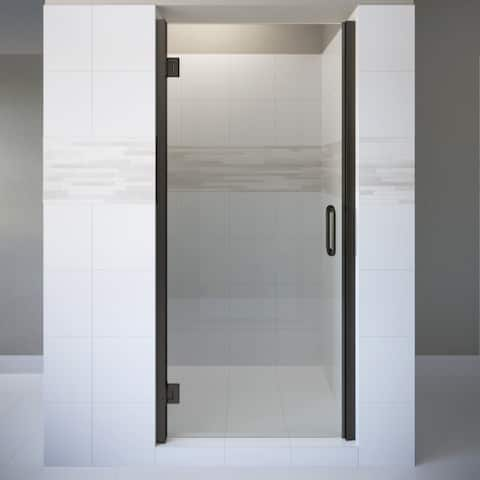 "Basco COPA00A3072CL Coppia 72"" High x 30-9/16"" Wide Hinged Frameless Shower Door with Clear Glass"