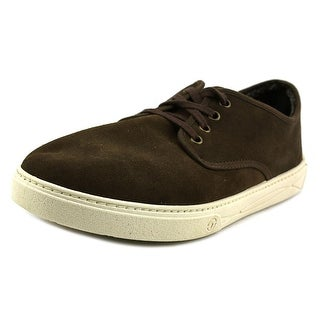 Natural World Blucher Round Toe Suede Oxford