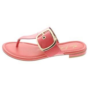Marc Fisher Womens PASO Split Toe Casual Slide Sandals