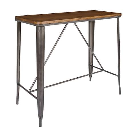 OSP Home Furnishings Indio 42-inch Rectangle Counter Height Table