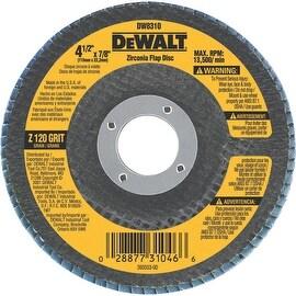 """DeWalt 4-1/2"""" 120Grit Flap Disc"""