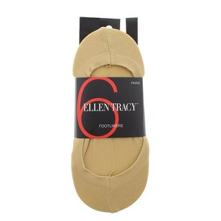 Ellen Tracy Womens Sock Liners 6PK Basic - 9-11