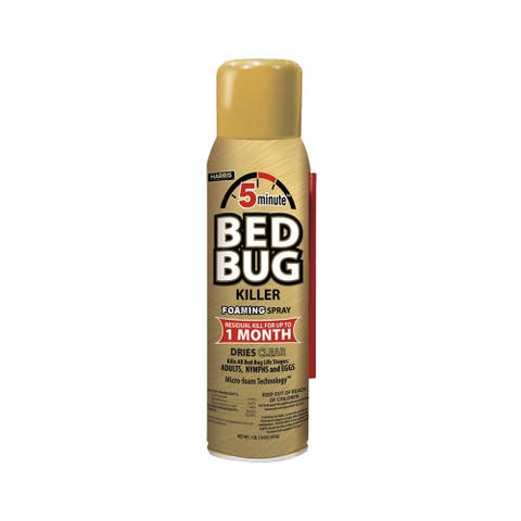 Harris GOLDBB-16A 5-Minute Bed Bug Killer, 16 oz