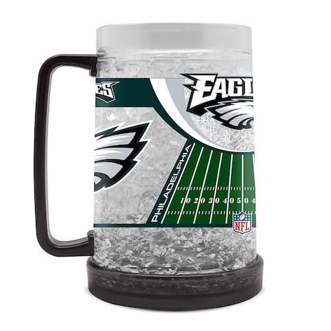 Philadelphia Eagles 16oz Crystal Freezer Mug