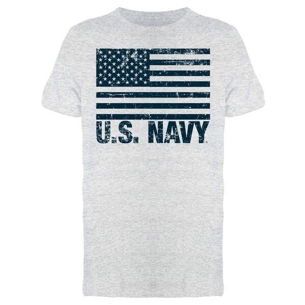 Grunge Flag U.S. Navy Men's T-shirt. Opens flyout.