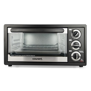 Link to Courant 6-Slice Toaster Oven with Convection & Broil Similar Items in Kitchen Appliances