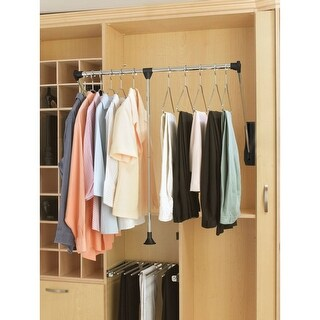 "Rev-A-Shelf CPDR-1826 CPDR Series 18"" - 26"" Pull-Down Closet Rod - N/A"