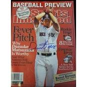 Signed Matsuzaka Daisuke Boston Red Sox Sports Illustrated autographed