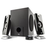Cyber Acoustics Ca-3090 18W Peak Power Speaker System With Control Pod