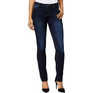 Jag Jeans Womens Portia Straight Leg Jeans Stretch Denim