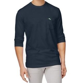 Tommy Bahama NEW Blue Note Mens Medium M Long Sleeve Tee T-Shirt