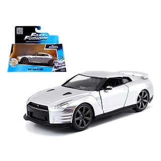 Brian\'s Nissan GT-R R35 Silver Fast & Furious Movie 1/32 Diecast Model Car by Jada