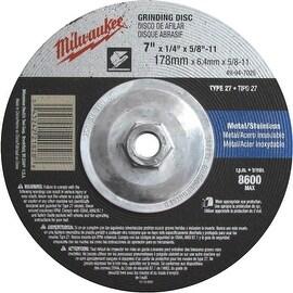 Milwaukee 7X1/4X5/8-11 Grind Disc