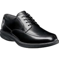 Nunn Bush Men's Marshall St. Moc Toe Oxford Black Leather